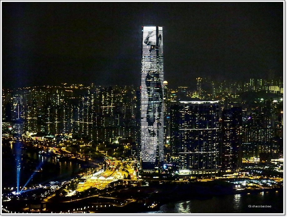 香港自由行20151008 盧吉道拍攝西九龍ICC