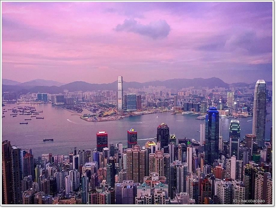 香港自由行20161007-1 盧吉道黃昏
