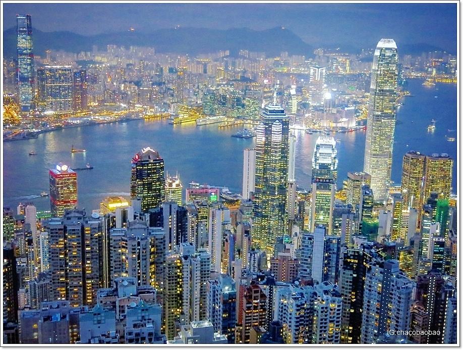 香港自由行20161007-2 盧吉道 維港