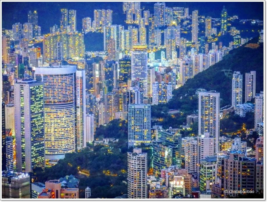 香港自由行20161007-6 盧吉道 灣仔銅鑼灣
