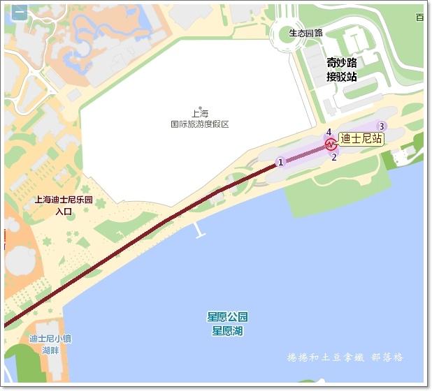 上海迪士尼交通01