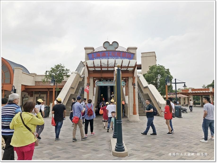 上海迪士尼交通02