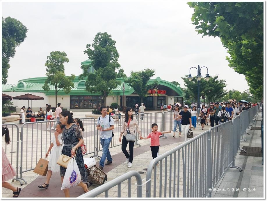 上海迪士尼交通06