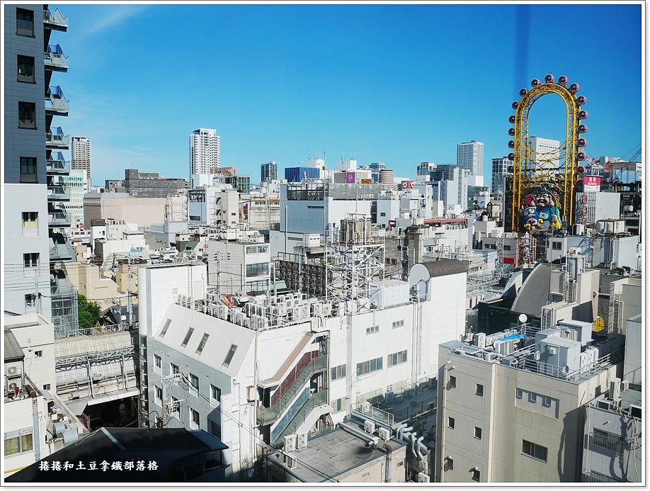 紅屋頂加客棧大阪難波酒店-10