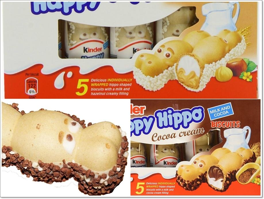 健達Kinder Happy Hippo