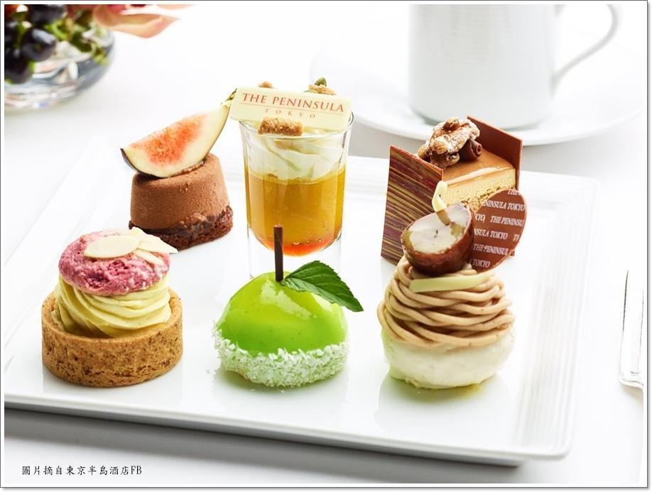 東京半島酒店秋季下午茶