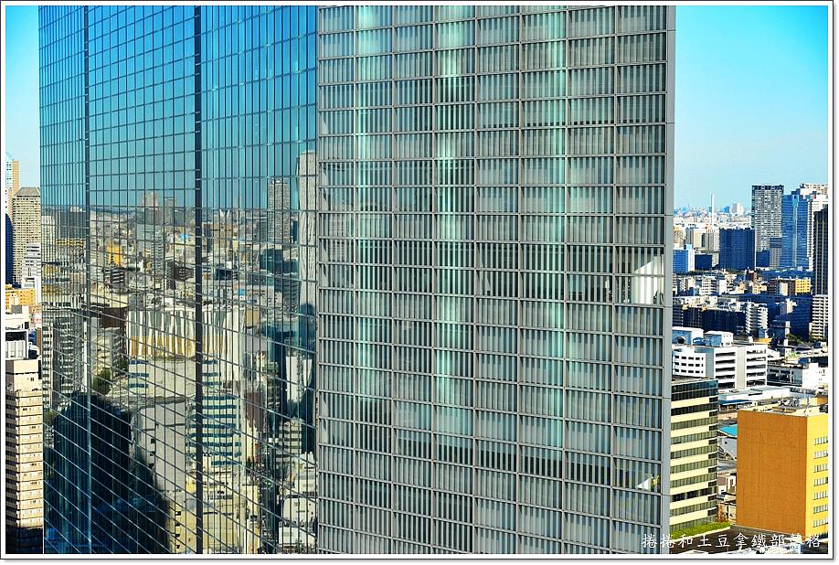 東京皇家花園酒店矽留窗景