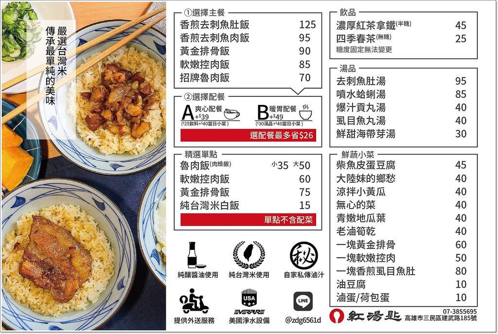 紅湯匙肉燥飯-16