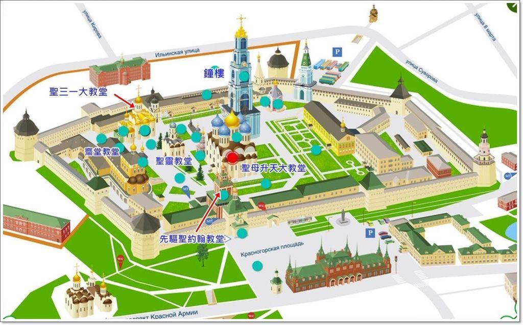 聖三一教堂平面圖-1