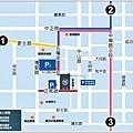 台東喜來登酒店行車建議路線圖-1