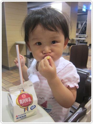 吃薯條好可愛!