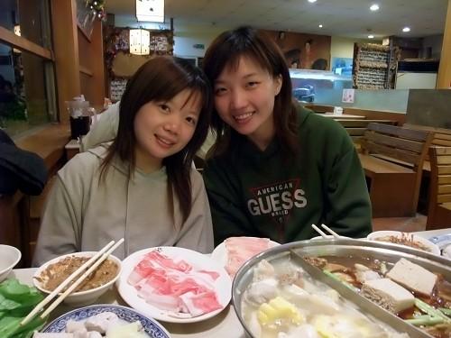 葉憶雯跟可愛的妹妹