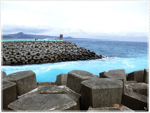核三廠的廢水出海口