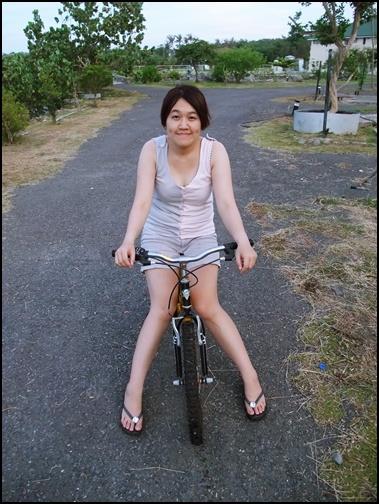我的工作是騎腳踏車運動&陪澆