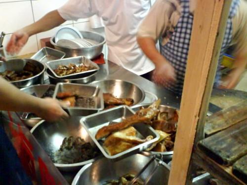 2010/1/1 好吃但是貴松松的冬粉鴨