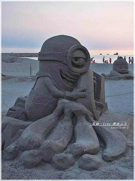 旗津黑沙雕展
