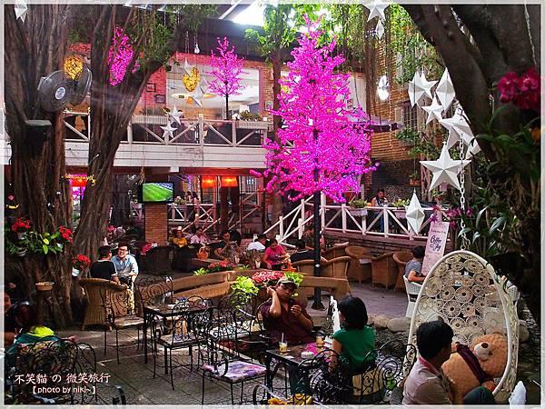Cafe Nhật Nguyệt Garden