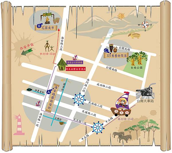 台南map