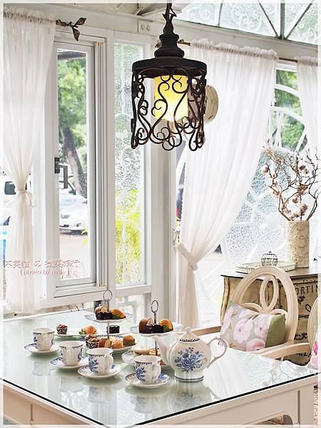 景大渡假莊園景觀玻璃屋_卡薩布蘭加.午茶時光