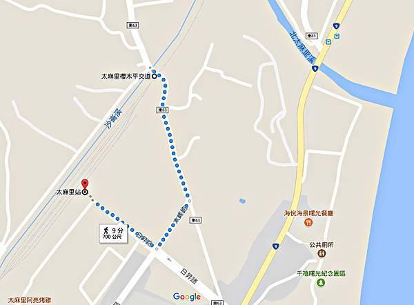 櫻木平交道MAP
