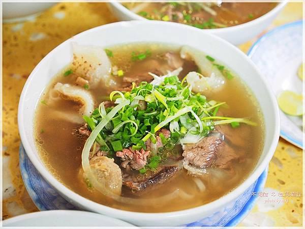 越南胡志明市美食_ Pho Le錦麗牛肉河粉