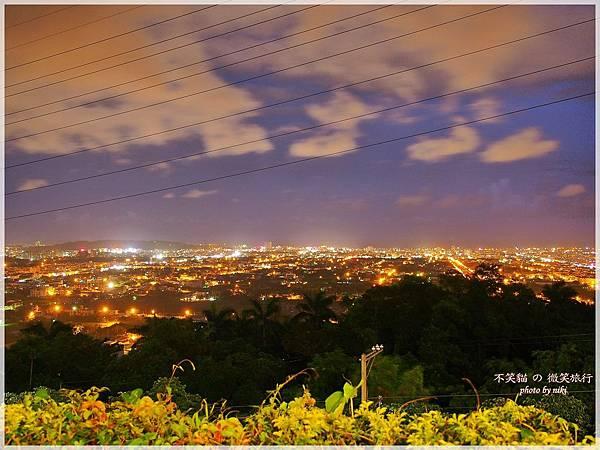 花蓮市夜色景觀餐廳_向陽山茶舖