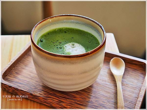 台南甜品下午茶美食_綠町抹茶專門店