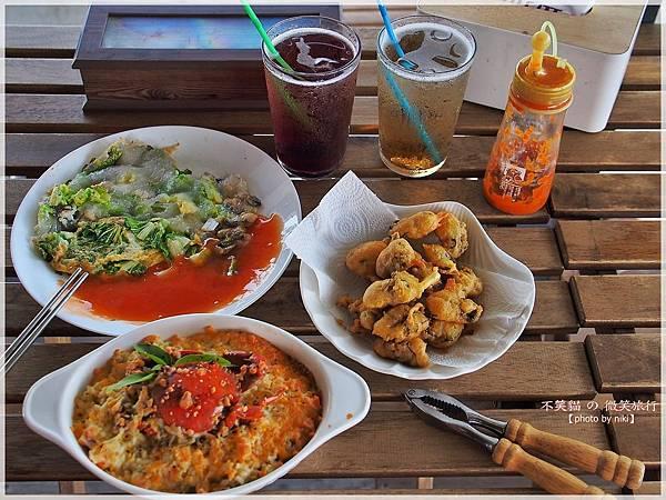 屏東東港美食_自家養殖鮮蚵小天地廚房