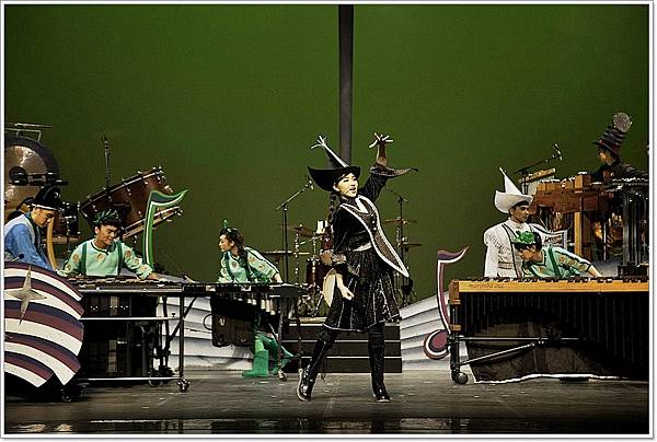 魔幻舞台上演優質節目  擊樂好手與親子同樂