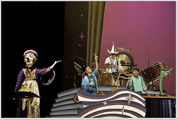 8_5豆莢寶寶兒童音樂會《擊樂魔法書》台北城市舞台首演