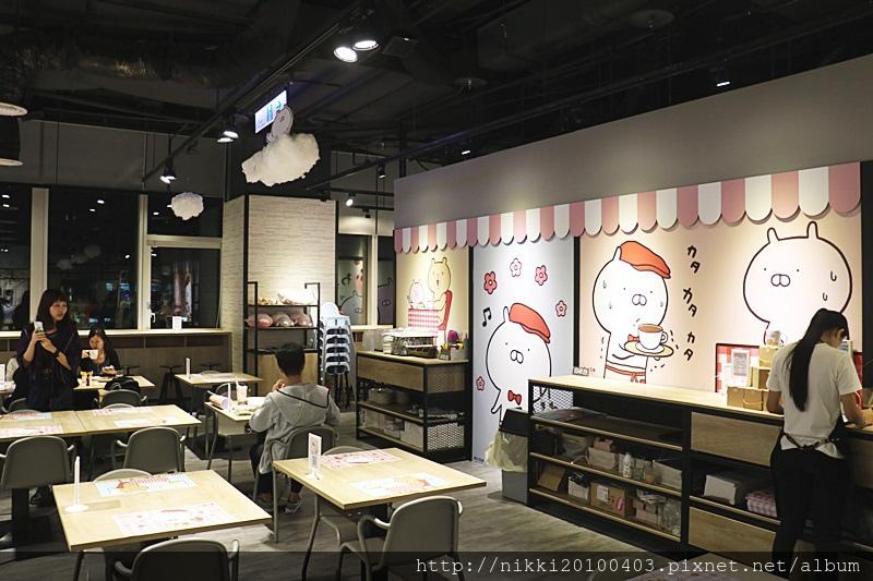 兔丸USAMARU X 頑食概念餐廳 Foodplay 信義誠品店 (15).JPG