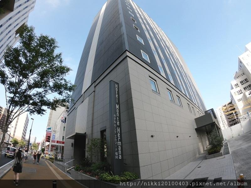 福岡蒙特埃馬納酒店 Hotel Monte Hermana Fukuoka 2018日本九州自由行 福岡天神高CP值飯店推薦 天神親子飯店推薦