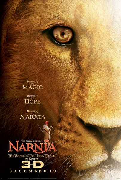 納尼亞傳奇3: 黎明行者號 The Chronicles of Narnia: The Voyage of the Dawn Treader