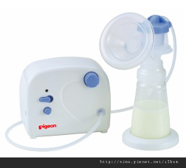 new breast pumpb