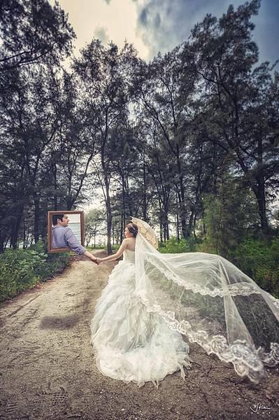 自助婚紗(圖油甲桂) (造型Nina Lin)