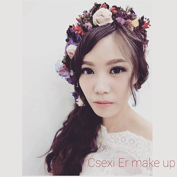 Csexi Er make up 鮮花造型