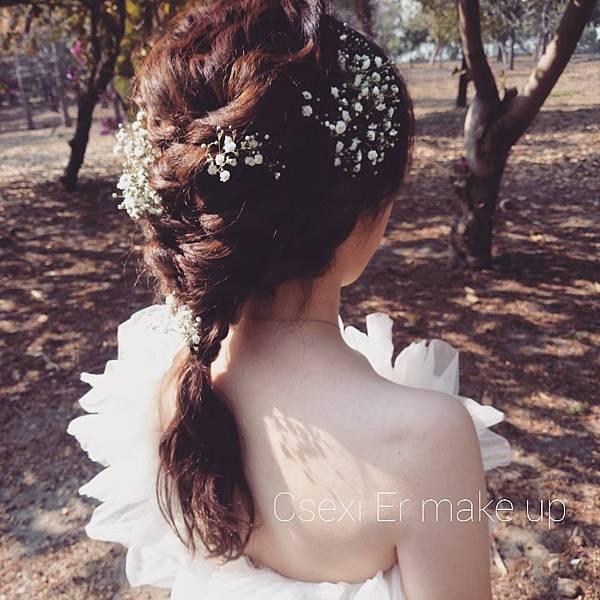 瑟席爾彩妝造型 單人婚紗拍攝