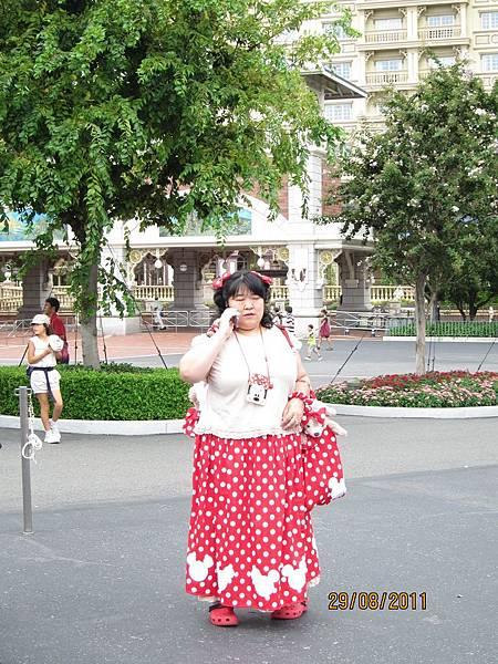 0829迪士尼大嬸