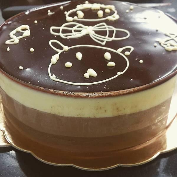 三層巧克力慕斯