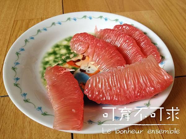 好吃的紅柚
