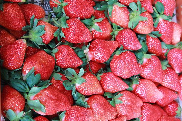 我的草莓!