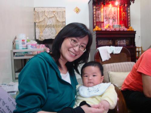 芳敏姐姐跟寶寶
