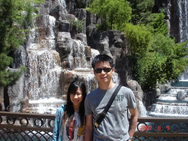 Wynn Waterfall 2007