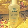 NUXE floral lotion