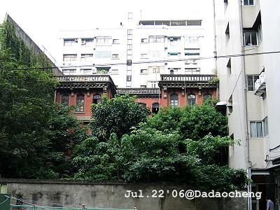 錦記茶行-後庭院