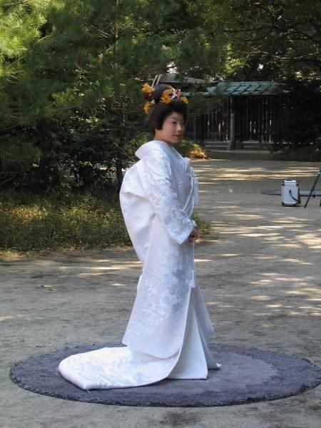 16-穿白無垢的新娘