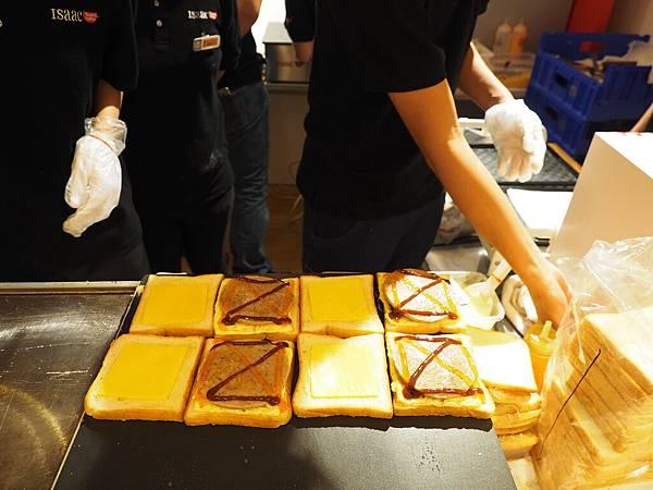 Isaac Toast & Coffee 自製醬料