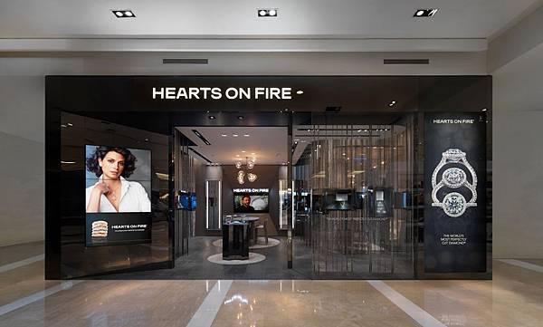 HEARTS ON FIRE全新概念店-台南新天地-1