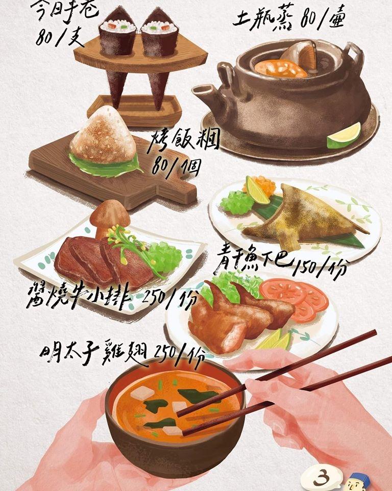 望月家 菜單價位 台中壽司 忠明路美食03