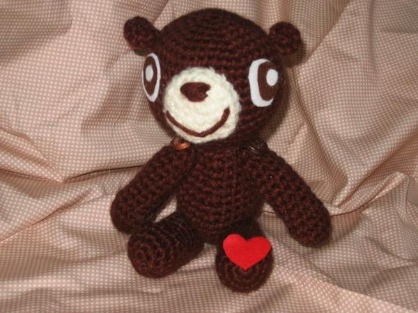 愛心巧克力熊
